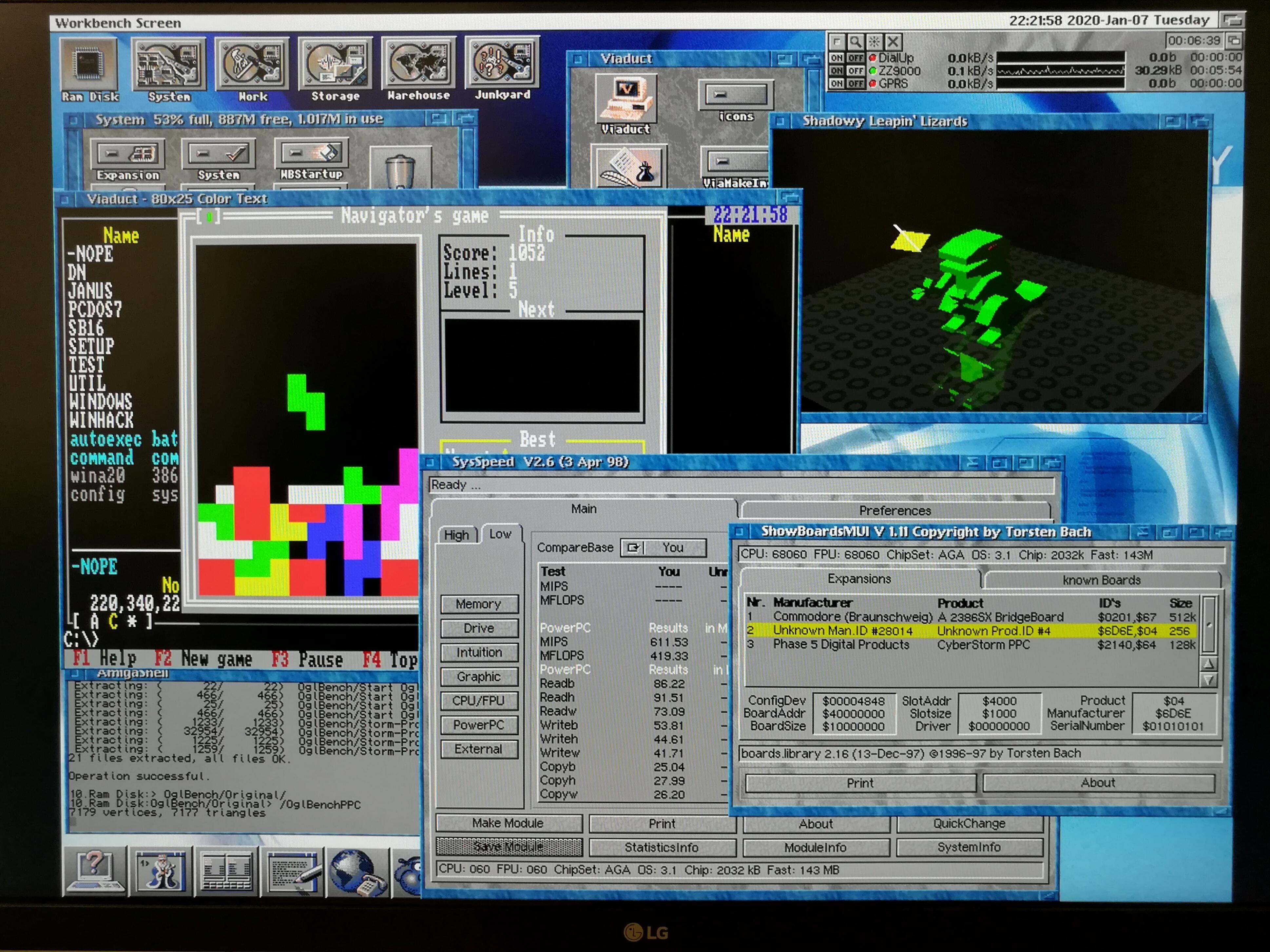AmigaOS 4 CPU